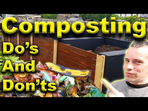 How To Make Compost - Composting Process  - Compost Methods