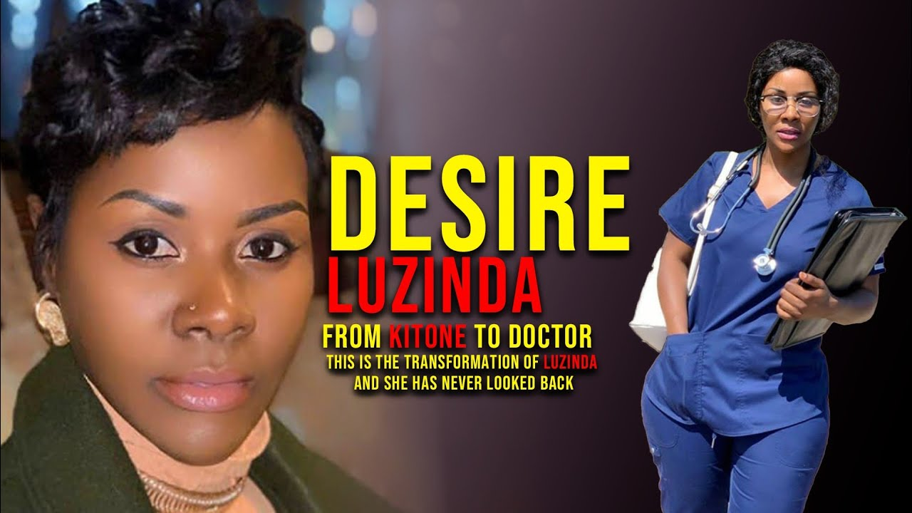 Download Desire Luzinda becomes a doctor. The story of desire Luzinda from Kitone to doctor.