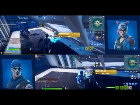 Fortnite Chapter 2 Season 2 Week 2 - Split Screen Duos PS4 PRO