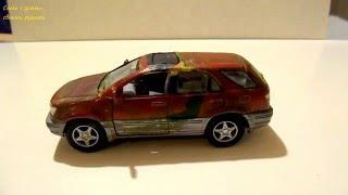 Машинки - из грязи в князи. Модель Lexus RX300