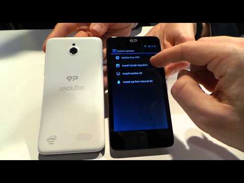 MWC 2014: Hands On with the Geeksphone Revolution
