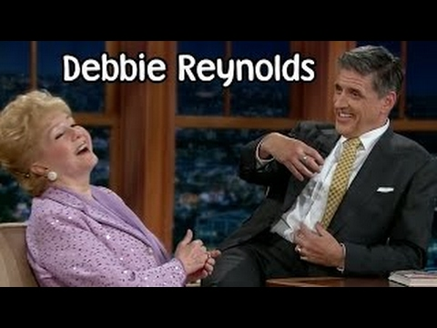 Craig Ferguson Late Late Show Debbie Reynolds interview 2013, Apr 08th