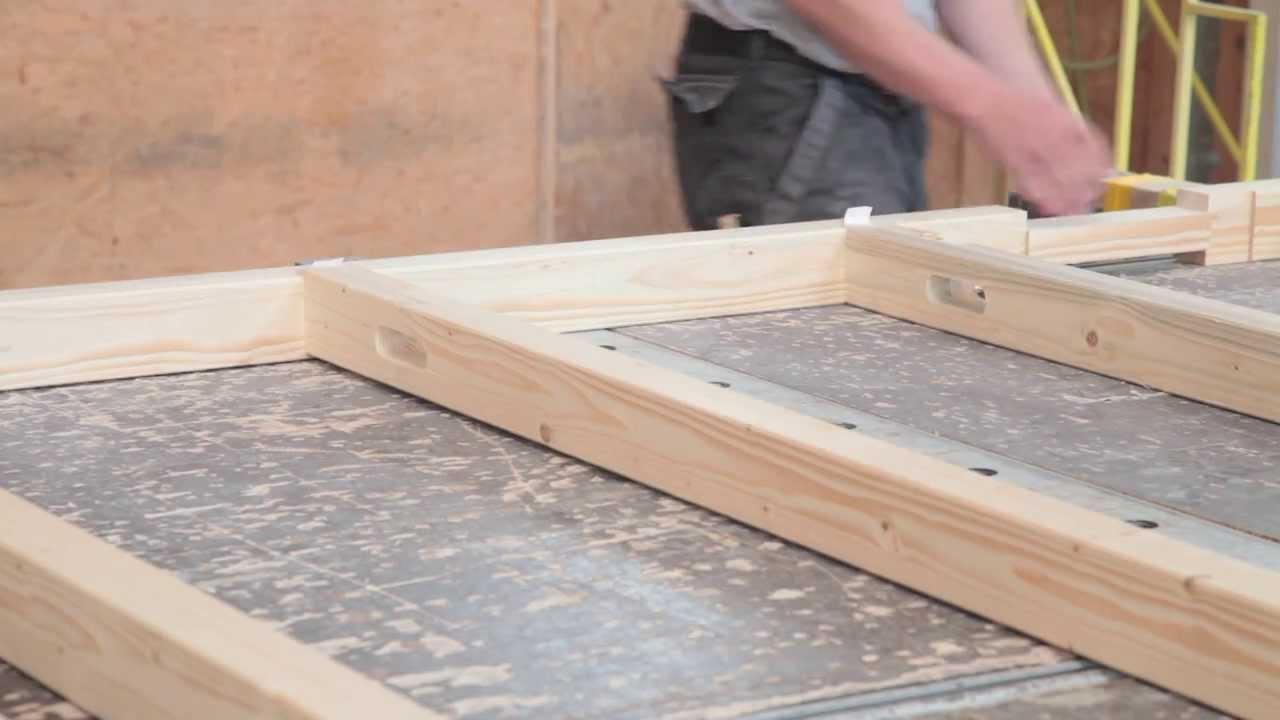 Elementbau mit schwalbenschwanz youtube for Holzverbindungen herstellen
