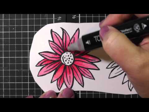 Close To My Heart | Shinhan Touch Twin Markers Demo and Card