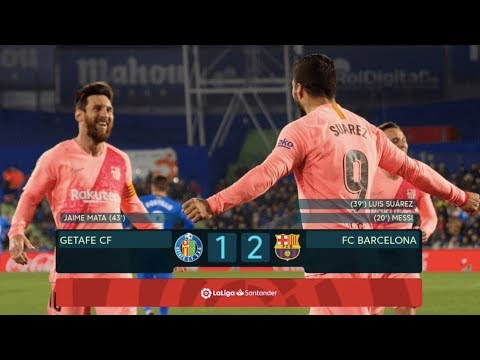Getafe vs Barcelona [1-2], La Liga 2019 - MATCH REVIEW