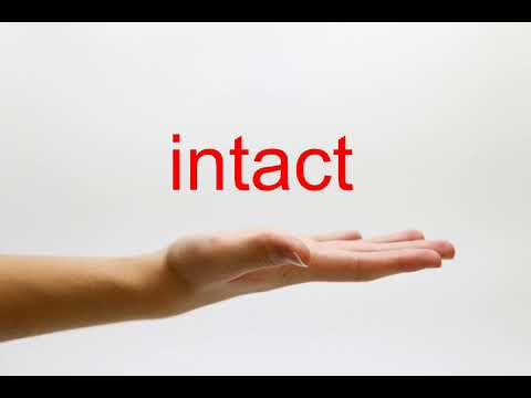 How to Pronounce intact - American English