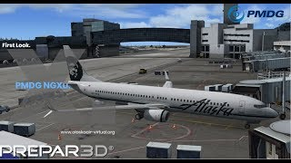 Alaska Airlines |  KDEN - KSAN | NEW PMDG NGXu | 4K | VATSIM