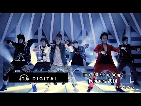 Top 100 K-Pop For February 2014 (Month End Chart)