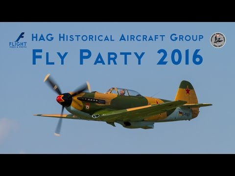 FlyParty 2016 in Montagnana by Historical Aircraft Group HAG - 4K