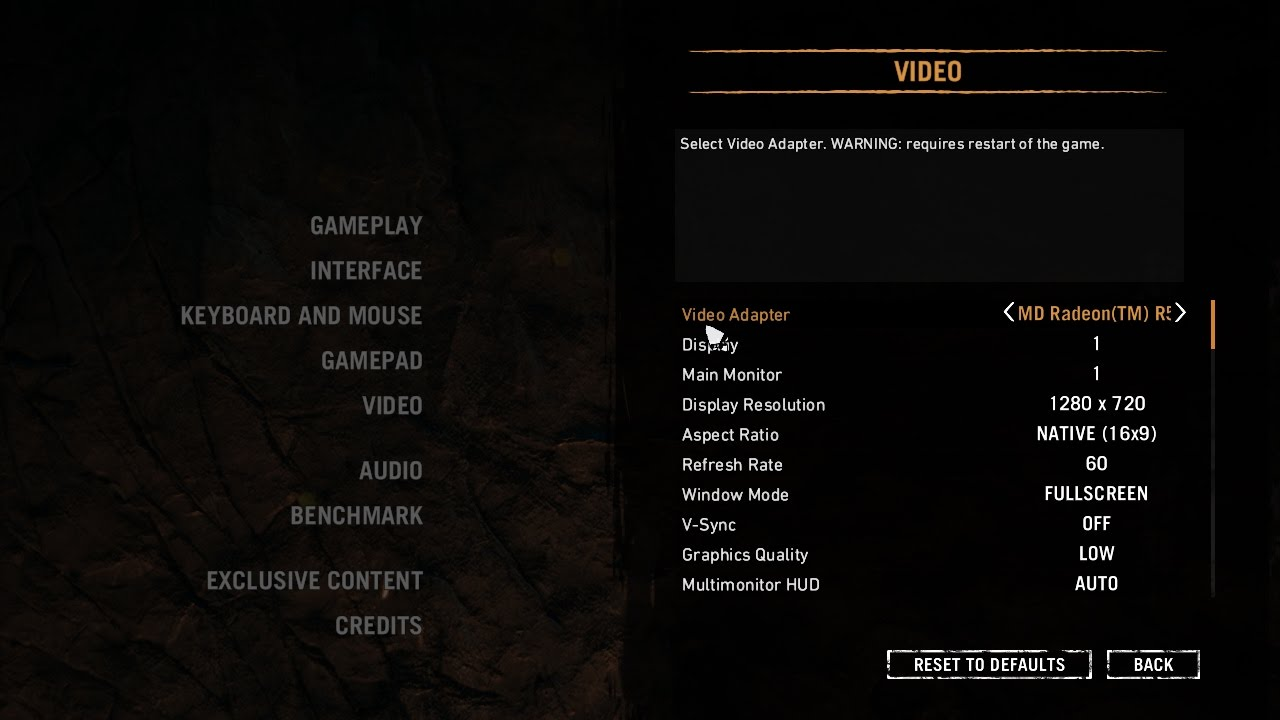 Far Cry Primal on AMD A8-7410 with AMD Radeon R5 Graphics