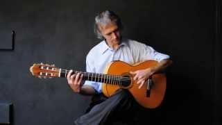Урок испанской гитары. Триольное разгеадо.