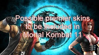 Will Mortal Kombat 11 feature premier skins from Injustice 2?