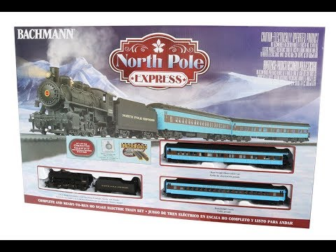 Bachmann #00751 North Pole Express Train Set