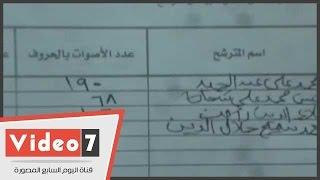 مدرسة بالطالبية تنتهى من الفرز بتقدم محمد على عبد الحميد وأحمد سميح