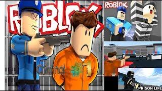 Escapo de prision!!!/ROBLOX Prison Life/Ep1