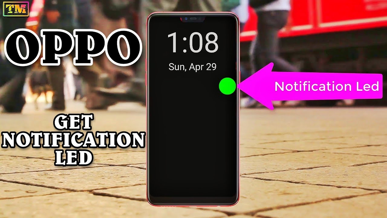 Oppo Amazing Notification Led & Always on Display | Must Have For Android  Phones