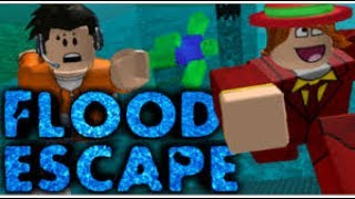 roblox let's play Flood Escape