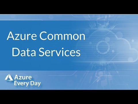 Azure Common Data Services