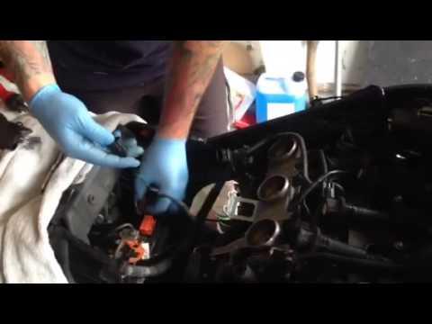 Triumph Gt 1050 Part 6 Speed Triple Engine Service Plug Air Filter Change Mark Savage