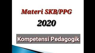 Soal Skb|pedagogik|ppg