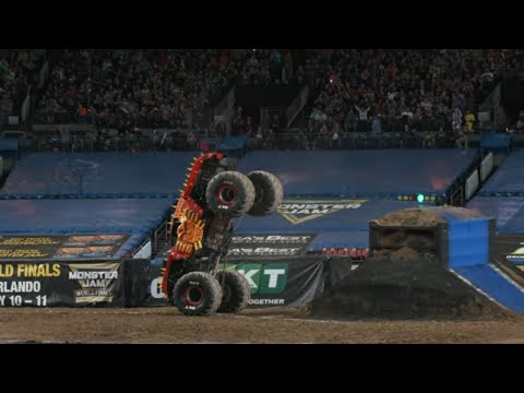Denver, CO Highlights | Monster Jam 2019 - Stadium Championship Series 1