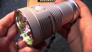 HaikeLite MT03 II Devourer Flashlight Review! (Upgraded Version)