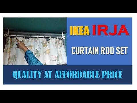 IKEA IRJA Curtain Rod Set | Quality at affordable price