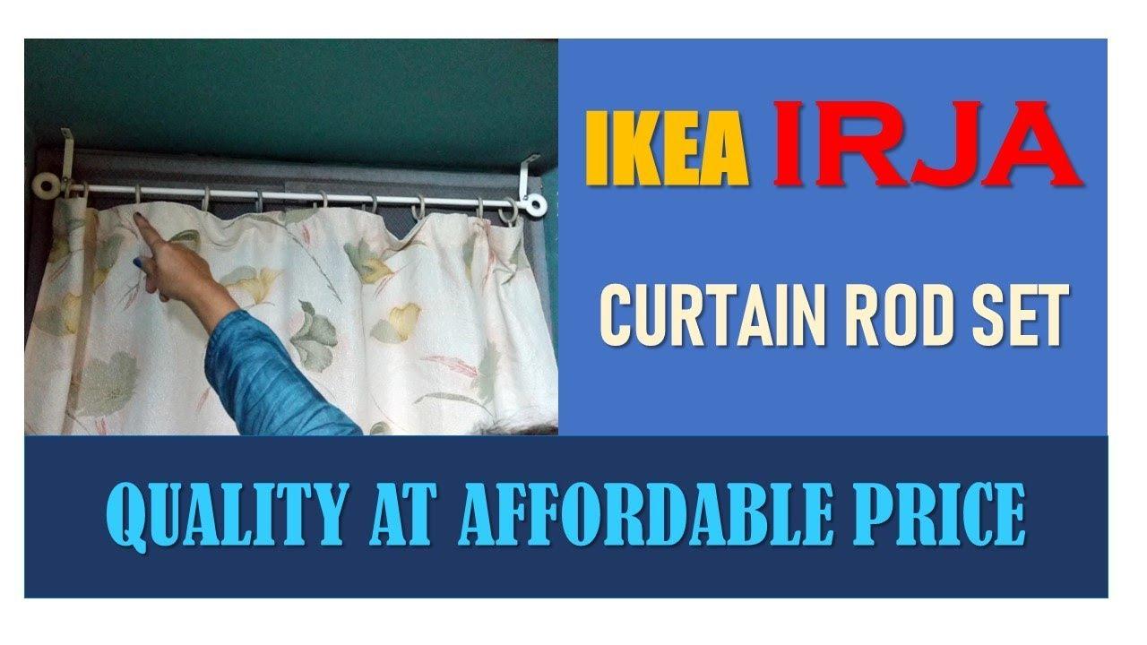 ikea irja curtain rod set quality at affordable price