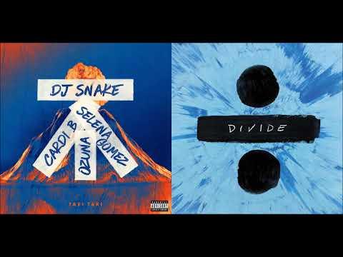 Shape of Taki Taki (Mashup) - DJ Snake, Selena Gomez, Ozuna, Cardi B, Ed Sheeran
