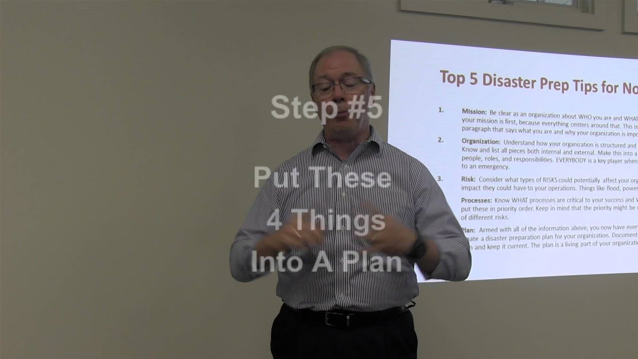 Create a Continuity Plan in 5 Steps