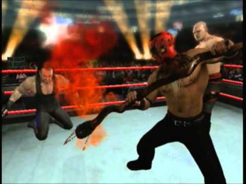 Smackdown Raw 2009 The Boogeyman steals Kane's Soul