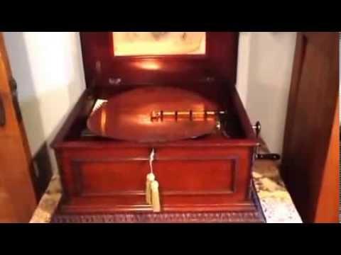 1890s Regina disc music box