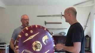 The Sutton Hoo ship burial weapons, Part 2 - The Shield, with Paul Mortimer
