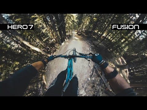 HERO7 HyperSmooth vs GoPro Fusion - Whistler A-Line (4K)