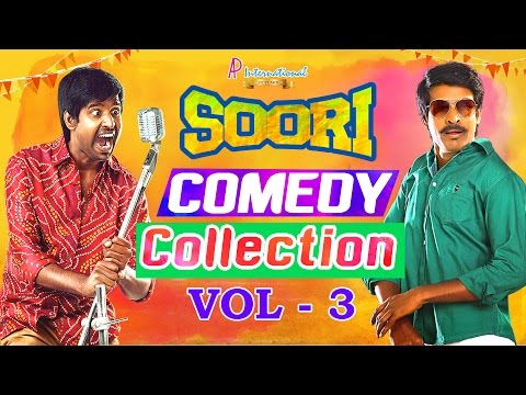 Soori Comedy Collection | Vol 3 | Soori Comedy Scenes | Soori Comedy | Soori Tamil Comedy