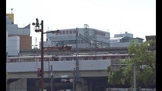 四日市の市街地から近鉄四日市駅に歩いた風景