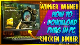 HOW TO DOWNLOAD PUBG MOBILE IN PC || DEADSHOT GAMING || TAMIL