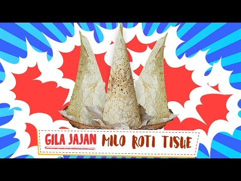 WOOOW !! Roti Tissue Tertinggi se Indonesia | Gila Jajan #41