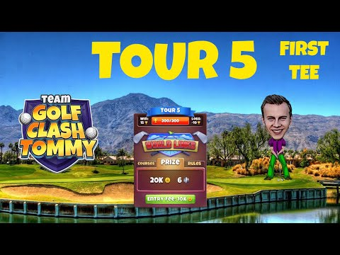 Golf Clash tips - Tour 5, World Links - Courses, Rules and club tips!