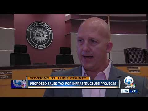 Proposed sales tax for infrastructure projects