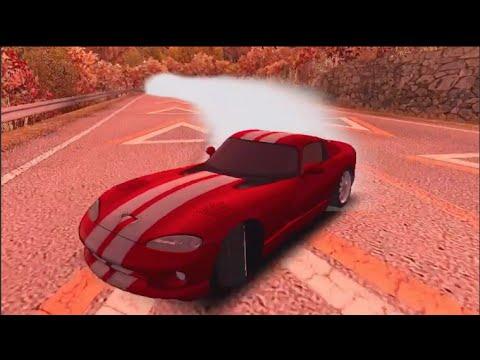 Mobile iOS - Real Drift Racing - Mountain Downhill w/95 Viper