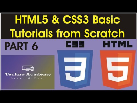 Tutorial  #6 for Beginners  How to build web pages with HTML, CSS, Javascript thumbnail