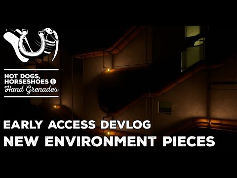 H3VR Devlog: New Environment Geo Kits