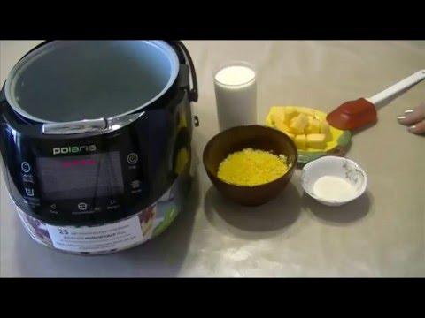 Как приготовить кукурузную кашу в мультиварке с тыквой