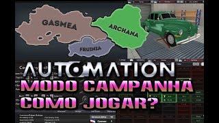 Como jogar Automation | Parte 1: Um chassis versátil para começar |  (Gameplay / PC / PTBR) HD