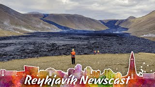 RVK Newscast #110: Workers Try To Save Volcano Path