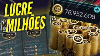 LUCRE MILHÕES DE COINS NO FIFA MOBILE 2020! *trade básica*
