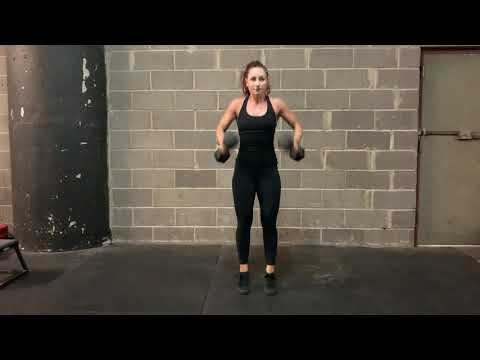 DB Power Clean and Push Press