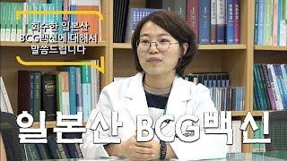 회수한 일본산 BCG백신에 대해서 말씀드립니다. 썸네일