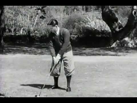 Bobby Jones Swinging the Clubhead